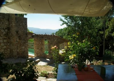 Vue From The Breakfast At BB La Parare 600x399 1